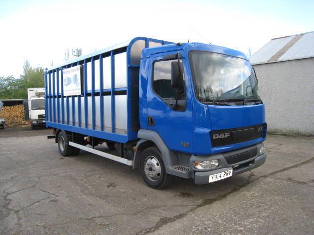 2001 DAF LF 45.150 4x2 Cattle Truck for sale in Ballymoney ...